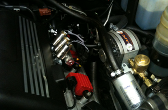 step 3 - pressure reducer, injectors and filter